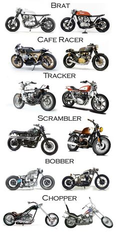 "motomood: ""You probably saw it, but it& worth repeating custom motorcycles . - cafe racer- motomood: ""You& probably seen it, but it& worth repeating custom motorcycles … – cafe racer – # looked - Motorcycle Types, Bobber Motorcycle, Bobber Chopper, Harley Bobber, Brat Bike, Tracker Motorcycle, Motorcycle Hair, Bobber Bikes, Motorcycle Garage"