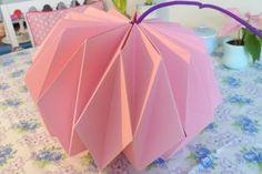 origami lampe DIY / bang bang