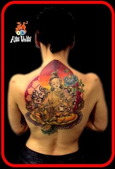 Mother Tara. The female Buddha of compassion and wisdom.