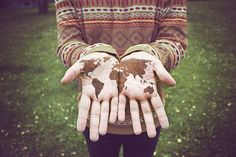 The world in my hands!!!