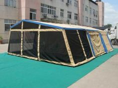Trailer Tent / Camping Tent / Awning / Family Tent (GET-596)