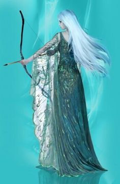 Even though this is obviously from Throne of Glass, this still reminds me also of Cleo learning archery in Frozen Tides. Long blonde hair, blue(ish) dress, determined expression, etc