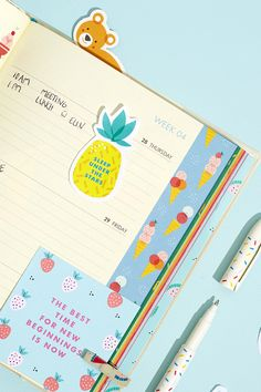 I really like Kikki K's Diary Challenge, it's playful and helps you remember to do a few fun things! Kikki K Planner, Happy Planner, Filofax, Kikki K Diary, Websters Pages, Bullet Journal Lettering Ideas, Party Pops, Cute Stationery, Too Cool For School