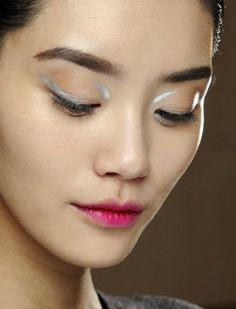 Tendance eye liner defile