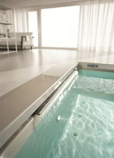 #Seaside, the very first #bathtub for the living room. The jet blower bubbles generate natural emotions. Enjoy ;)