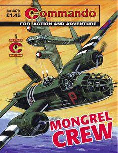 Commando comic book, Issue no. Comic Book Covers, Comic Books Art, Ian Kennedy, War Comics, Spanish Artists, Classic Comics, Old English, Magazine Art, Childhood Memories