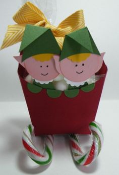 Fry Box Sleigh with Elves