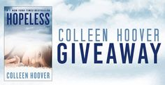 #Romance #Giveaway – Win Any #ColleenHoover Novel! #kindle #amreading