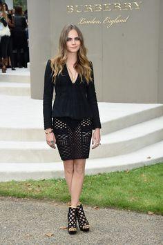 Os looks das celebridades para os desfiles da London Fashion Week