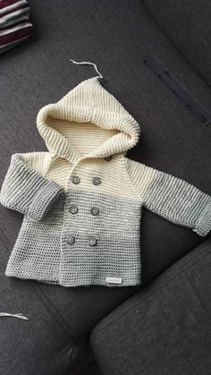 The math did not add up in somPlease note that this is a kni Knitting For Kids, Baby Knitting Patterns, Baby Patterns, Knitted Baby Clothes, Crochet Clothes, White Shirts Women, Blouses For Women, Jumper Outfit, Red Blouses
