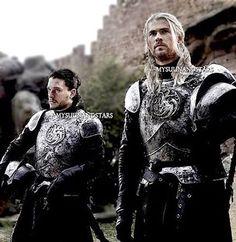 Father and son!  (Rhaegar Targaryen & Jon Snow) - - {Edited! - Not real}