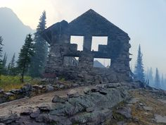 from the ashes Firefighters, Glacier National Park staff, and generations of park visitors and employees are heartbroken today at the loss of the main Sperry Chalet building. Sperry Chalet, Glacier Park, Big Sky Country, The Mountains Are Calling, John Muir, Mountain Range, Rafting, Sperrys, Montana