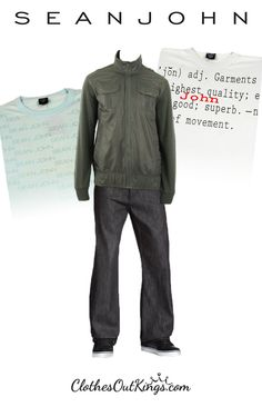 Men! Look fresh in clothes by Sean John… on a budget! Shop now at http://www.clothesoutkings.com/brands/Sean-John.html