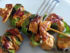 Pinchitos Morunos De Pollo y Pimientos. Recetas, Gastronomía, Food, Gastronomy, Recipes...