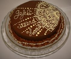 Cake for my mother in law. Happy birthday! https://www.facebook.com/cheffispastriesandparties