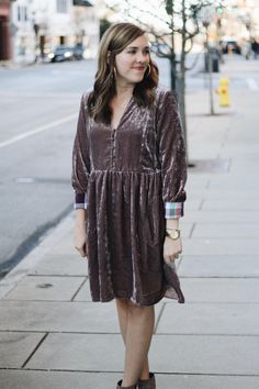 all i wanted for christmas was this blush dress!