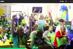 Câmeras captam a euforia dos torcedores no 1º gol do Brasil – do bar ao asilo - Blue Bus