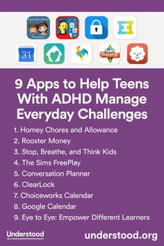 9 Apps To Help Teens With ADHD Manage Everyday Challenges