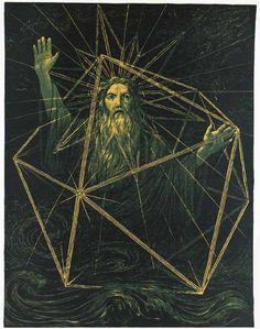 Es werde Licht - Hans Thoma 1884