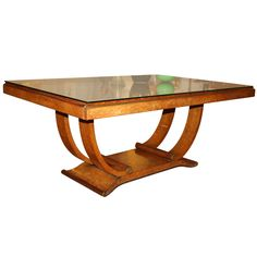 Shop dining room tables and other modern, antique and vintage tables from the world's best furniture dealers. Art Deco Furniture, Cool Furniture, Modern Furniture, Furniture Projects, Art Deco Decor, Art Deco Design, Dining Table Design, Dining Room Table, Dining Suites