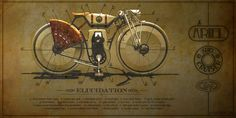 Ariel Cruiser Bike Concept by Ianis Vasilatos