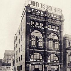 Recognise the Hotel Lindrum in Melbourne? In the 1900's the building was originally commissioned by famous tea & coffee merchants Griffiths Brothers. #melbournehistory #hotellindrum #melbourne #melbournearchitecture #mgallery - http://www.hotellindrum.com.au