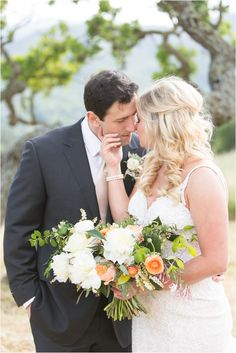 Holman Ranch Wedding, Carmel Valley Wedding, Carmel Wedding, Pebble Beach Wedding, Monterey Wedding, wedding ideas, wedding bouquet, Wedding Photographer  | Laura & Rachel Photography www.lauraandrachel.com