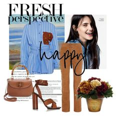 """""""Fresh Perspective"""" by melody-renfro-goldsberry ❤ liked on Polyvore featuring Jonathan Saunders, Paul & Joe and Gucci"""