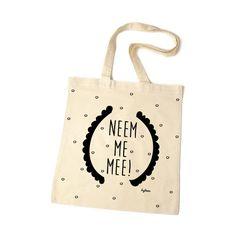The Bean Bag. Neem me mee! Je shopt 'm hier: http://www.bybean.nl/thebeanbagneemmemee