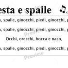 I+use+this+song+to+teach+Italian+parts+of+the+body. This+translation+fits+the+same+tune+as+the+English+version.  Option: print+in+full+colour+A3/A4...