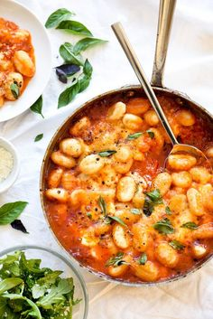 Gnocchi With Pomodoro Sauce would make a great date-night dinner!