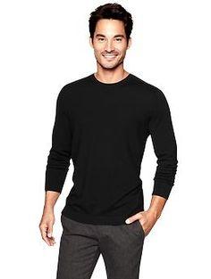 Merino crewneck sweater | Gap