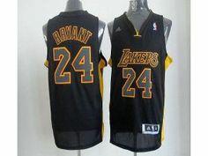 355e9fb6e57 NBA Lakers  24 Kobe Bryant Black With Gold No. Stitched Jersey Nba Los  Angeles