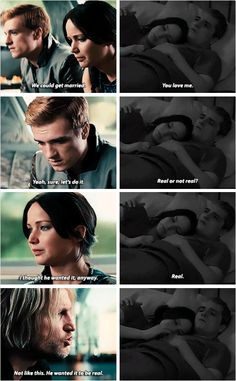 POPSUGAR POPSUGAR,Die Tribute von Panem Hunger Games Book Moments: Back in our old quarters in the Training Center Im the one who suggests the public marriage proposal. Peeta agrees to do it but then. Divergent Hunger Games, Hunger Games Memes, Hunger Games Cast, Hunger Games Fandom, Hunger Games Trilogy, Divergent Quotes, Hunger Games Haymitch, Hunger Games Catching Fire, Katniss And Peeta