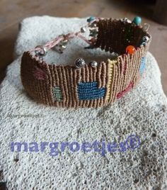 """finding sterling silver beads and cords on my table made me create this bracelet. It gives me the feeling of walking on the beach and finding """"treasures"""""""