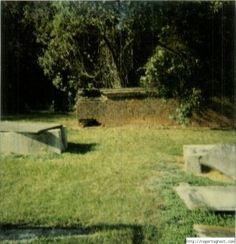 Part of the cemetery in Newberry South Carolina that has one of the highest levels of paranormal activity that I have ever seen.