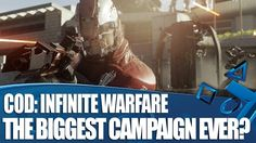 Call Of Duty: Infinite Warfare PS4 gameplay - The biggest campaign ever?