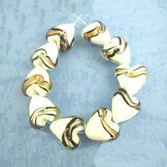 Gold Foil, Glass Beads, Artisan, Color, Colour, Craftsman, Colors