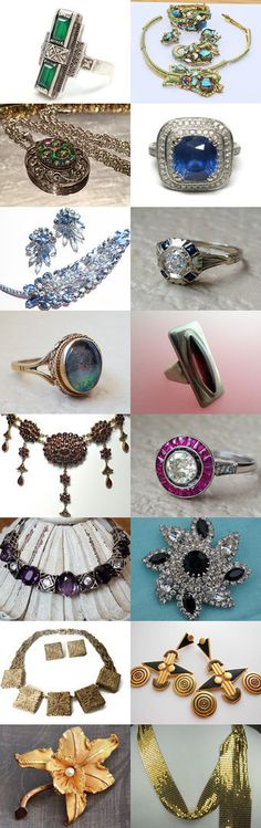 Incredible Vintage Jewelry by ElizaBella Designs on Etsy--Pinned+with+TreasuryPin.com