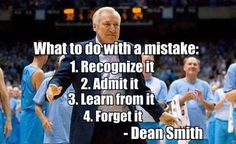 RIP Coach Dean Smith you were a teacher and leader.. Quote UNC