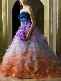 reinbow wedding dress - Hledat Googlem