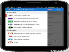 XBMC/KODI ADDONS EXPLORER  Android App - playslack.com , Description* Smarter way XBMC (New name KODI) addons browser to look at your existing XBMC addons installation including enabled/disabled andlook at Including All addons , scripts , repo ... etc so that you can views what addons are being installed already , what repo are already installed , read description , summary quickly- We now support any of existing XBMC/KODI installation , Our intelligent app detection can detect any eg . KODI…