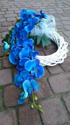 Grave Decorations, Flower Decorations, Silk Flowers, Paper Flowers, Casket Sprays, Flower Spray, Funeral Flowers, Ikebana, Door Wreaths