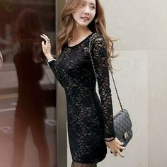 Lace Bodycon Dress from #YesStyle <3 WINGSMALL YesStyle.com