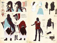 Izuminokami Touken Ranbu 2d Character, Character Concept, Concept Art, Anime Kimono, Touken Ranbu Characters, Anime Characters, Fashion Design Drawings, Designs To Draw, Anime Guys