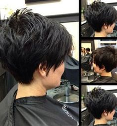 Today we have the most stylish 86 Cute Short Pixie Haircuts. We claim that you have never seen such elegant and eye-catching short hairstyles before. Pixie haircut, of course, offers a lot of options for the hair of the ladies'… Continue Reading → Pixie Haircut For Thick Hair, Haircut For Older Women, Short Hairstyles For Thick Hair, Short Pixie Haircuts, Short Hair Cuts For Women, Pixie Hairstyles, Cool Hairstyles, Short Hair Styles, Hairstyle Ideas