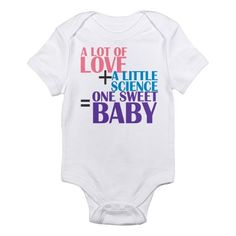 IVF Baby Body Suit @Lisa Phillips-Barton Phillips-Barton Phillips-Barton Lohrey @Charlene Saunders Saunders McNab Tinch