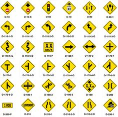 English worksheet: TRAFFIC SIGNS: Picture Dictionary. Match the ...