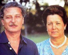 Don Alfredo con Rosa, su esposa