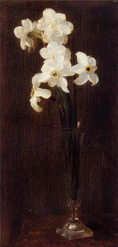 Henri Fantin-Latour. French (1836 - 1904) painting